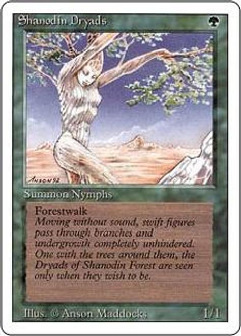 MtG Revised Common Shanodin Dryads