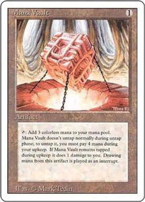 MtG Revised Rare Mana Vault