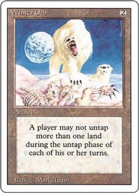 MtG Revised Rare Winter Orb