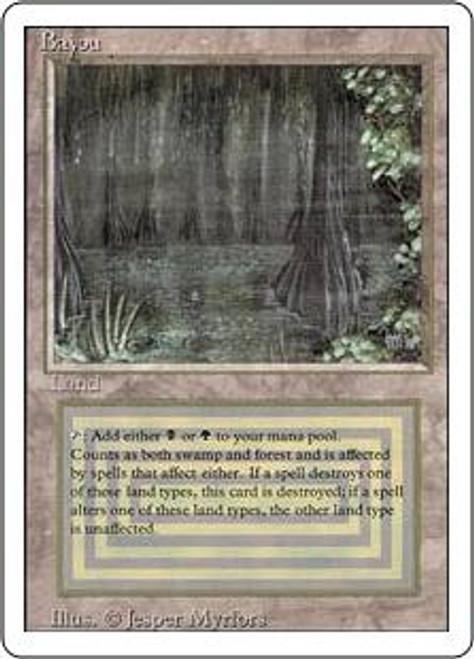 MtG Revised Rare Bayou