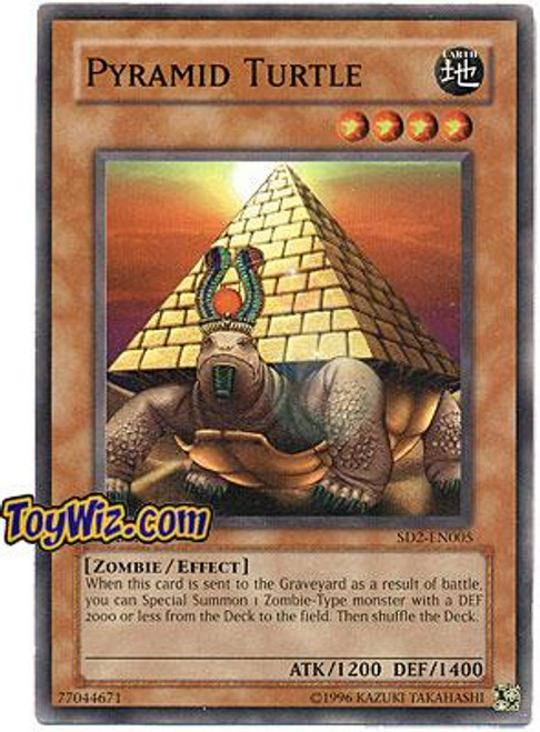 YuGiOh GX Structure Deck: Zombie Madness Pyramid Turtle SD2-EN005
