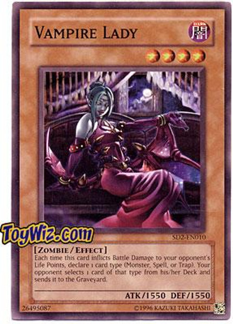 YuGiOh GX Structure Deck: Zombie Madness Vampire Lady SD2-EN010