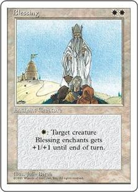 MtG 4th Edition Rare Blessing