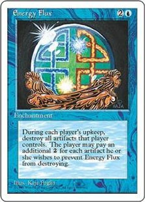 MtG 4th Edition Uncommon Energy Flux