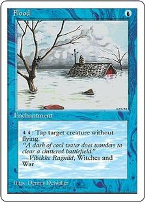 MtG 4th Edition Common Flood