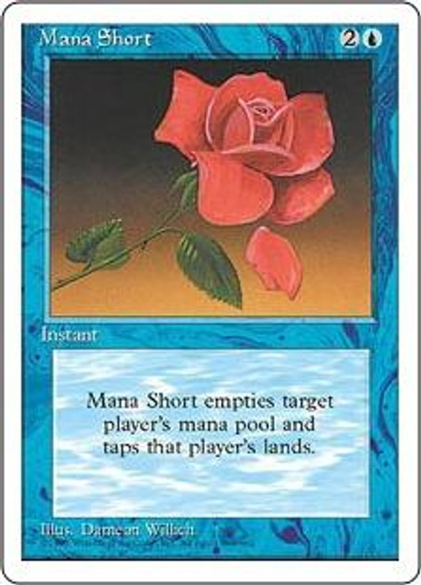 MtG 4th Edition Rare Mana Short