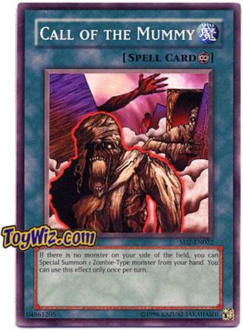 YuGiOh GX Structure Deck: Zombie Madness Call of the Mummy SD2-EN022