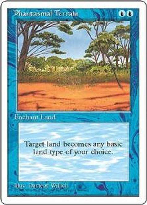 MtG 4th Edition Common Phantasmal Terrain