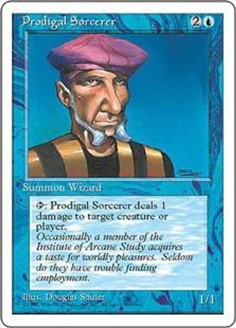 MtG 4th Edition Common Prodigal Sorcerer