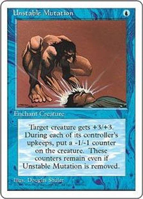 MtG 4th Edition Common Unstable Mutation