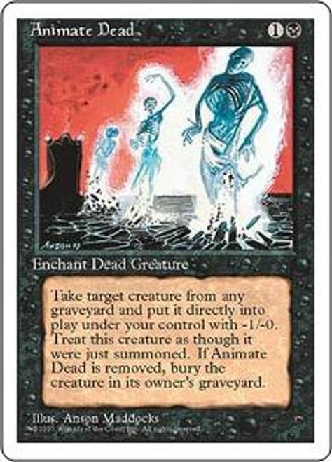 MtG 4th Edition Uncommon Animate Dead