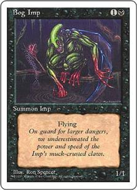 MtG 4th Edition Common Bog Imp