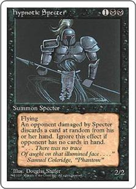 MtG 4th Edition Uncommon Hypnotic Specter