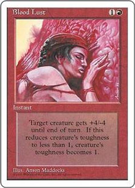 MtG 4th Edition Common Blood Lust