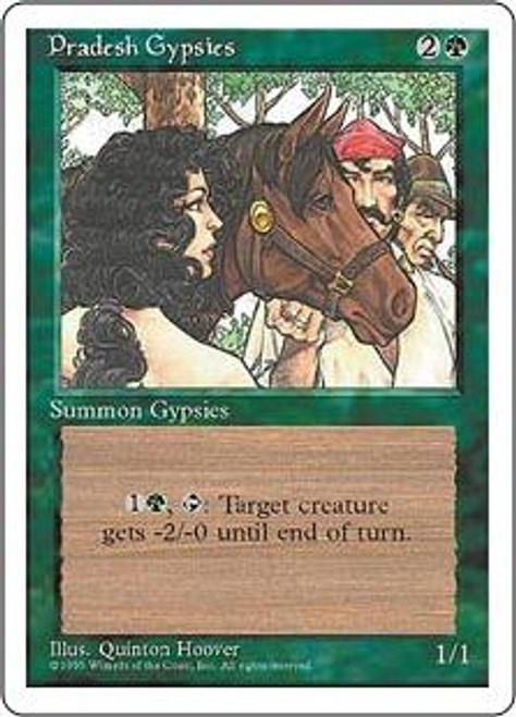 MtG 4th Edition Common Pradesh Gypsies