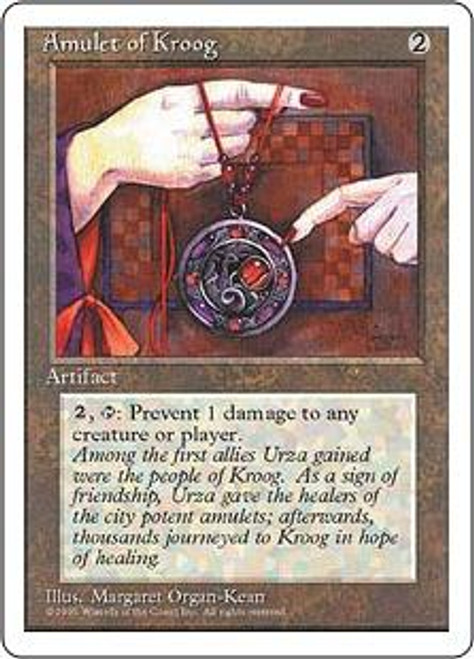 MtG 4th Edition Common Amulet of Kroog