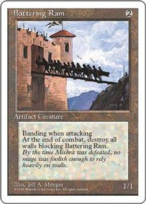 MtG 4th Edition Common Battering Ram