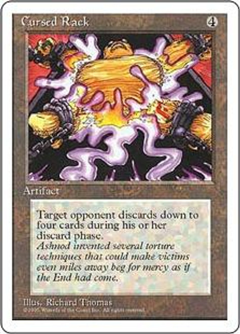 MtG 4th Edition Uncommon Cursed Rack