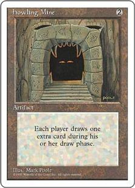 MtG 4th Edition Rare Howling Mine