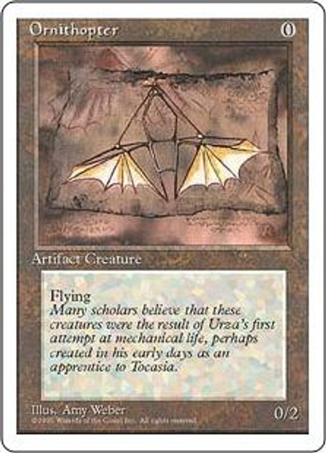 MtG 4th Edition Uncommon Ornithopter