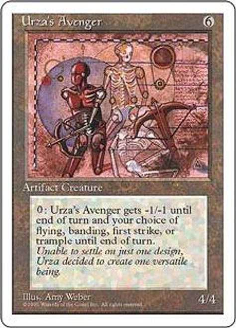 MtG 4th Edition Rare Urza's Avenger