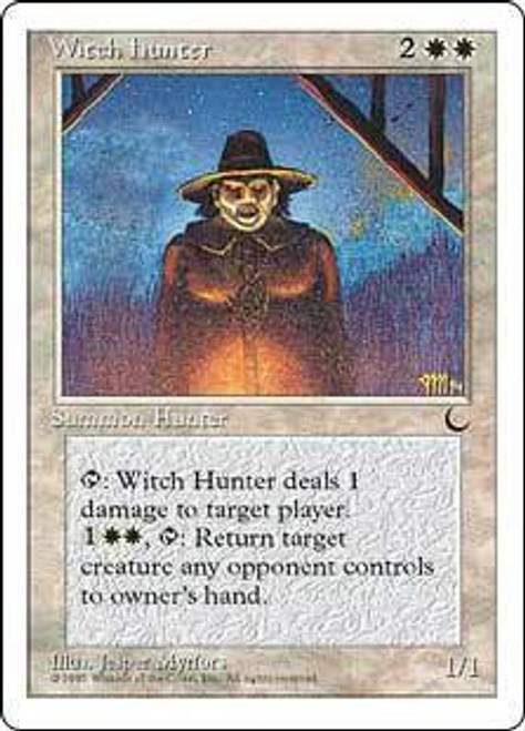 MtG Chronicles Uncommon Witch Hunter [Played Condition]