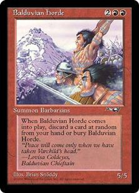MtG Alliances Rare Balduvian Horde