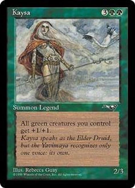 MtG Alliances Rare Kaysa [Heavily Played] [Heavily Played Condition]