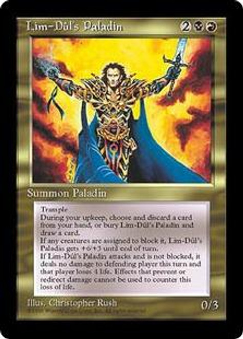 MtG Alliances Uncommon Lim-Dul's Paladin