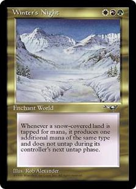 MtG Alliances Rare Winter's Night
