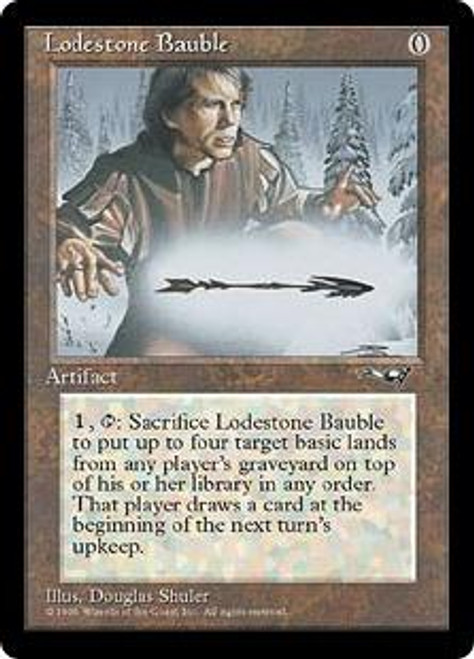 MtG Alliances Rare Lodestone Bauble