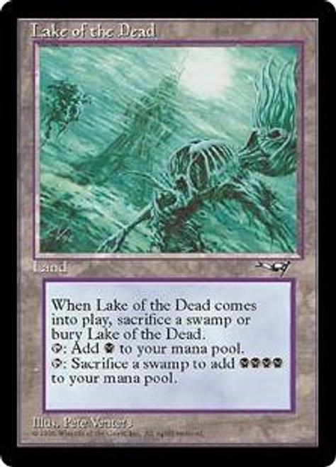 MtG Alliances Rare Lake of the Dead