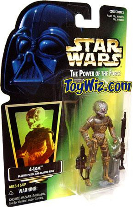 Star Wars The Empire Strikes Back Power of the Force POTF2 Collection 2 4-Lom Action Figure [Hologram Card]