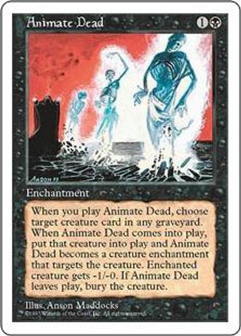 MtG 5th Edition Uncommon Animate Dead