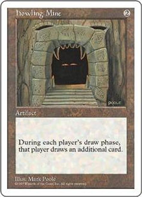 MtG 5th Edition Rare Howling Mine