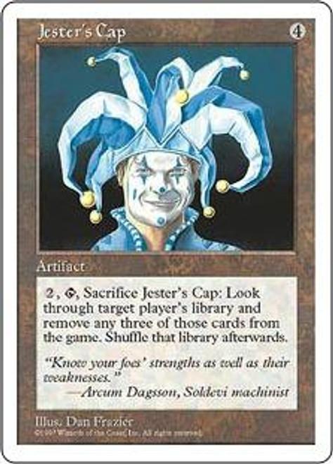 MtG 5th Edition Rare Jester's Cap