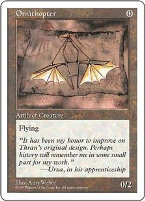 MtG 5th Edition Uncommon Ornithopter