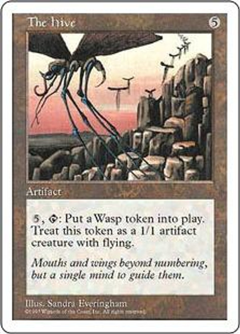 MtG 5th Edition Rare The Hive [Played Condition]