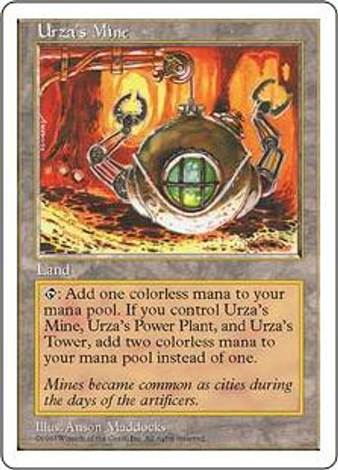 MtG 5th Edition Common Urza's Mine