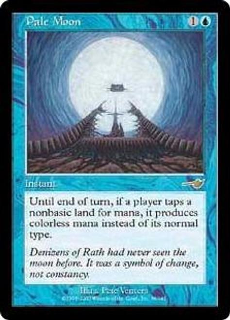 MtG Nemesis Rare Pale Moon #36