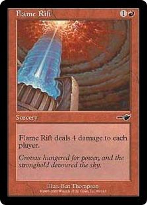 MtG Nemesis Common Flame Rift #80