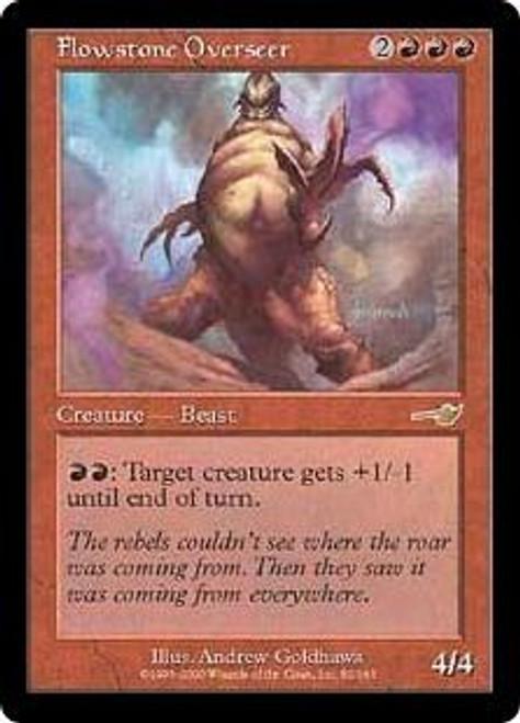 MtG Nemesis Rare Flowstone Overseer #82