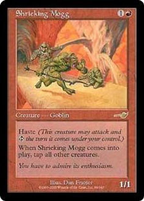 MtG Nemesis Rare Shrieking Mogg #99