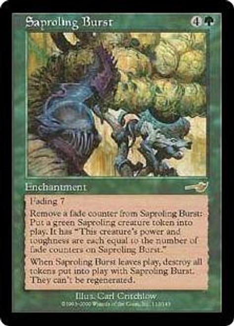 MtG Nemesis Rare Saproling Burst #113