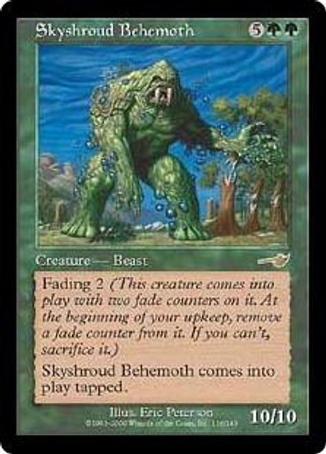 MtG Nemesis Rare Skyshroud Behemoth #116