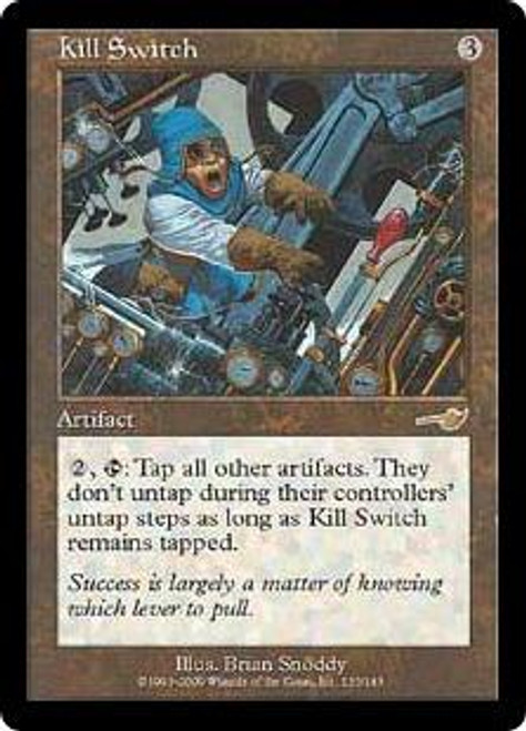MtG Nemesis Rare Kill Switch #133 [Played Condition]