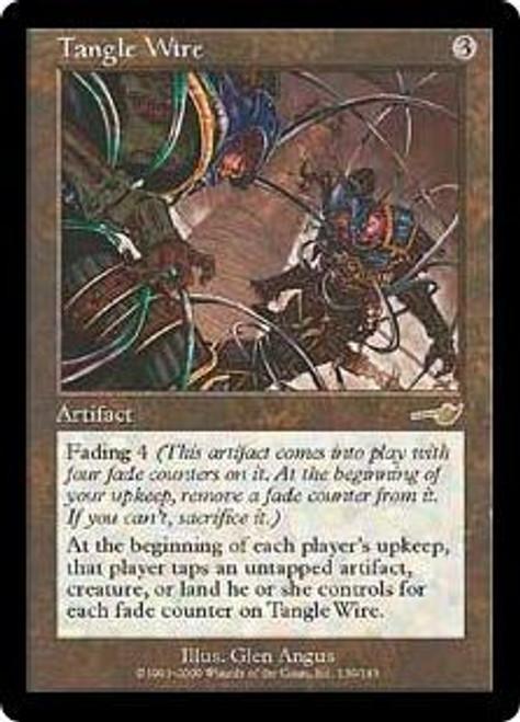 MtG Nemesis Rare Tangle Wire #139