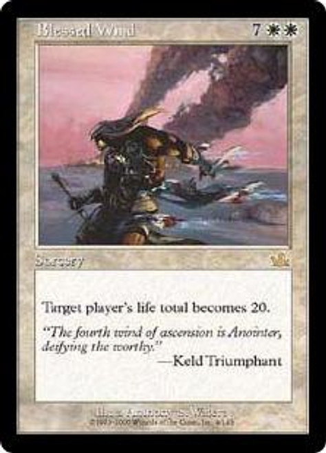 MtG Prophecy Rare Blessed Wind #4