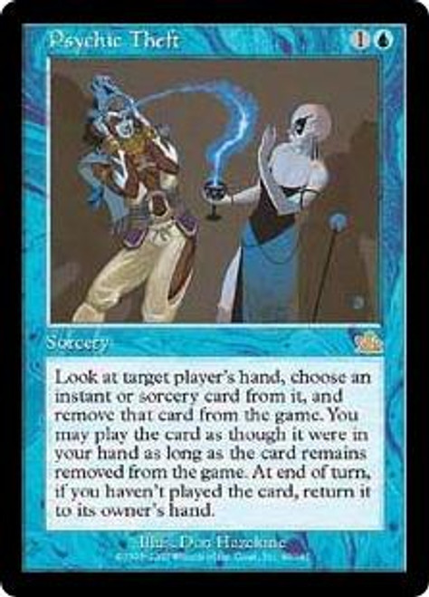 MtG Prophecy Rare Psychic Theft #40 [Played Condition]
