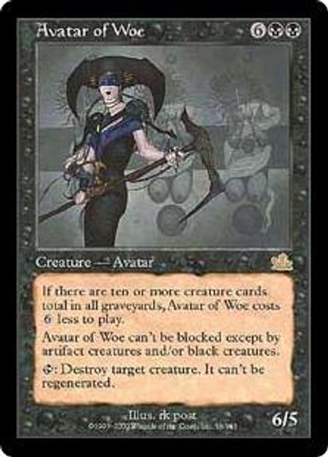 MtG Prophecy Rare Avatar of Woe #56